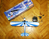 Модель літака Kyosho clipped wing cub m24 blue объявление