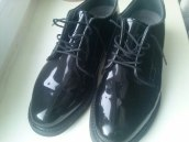 Bates lites black leather oxford объявление